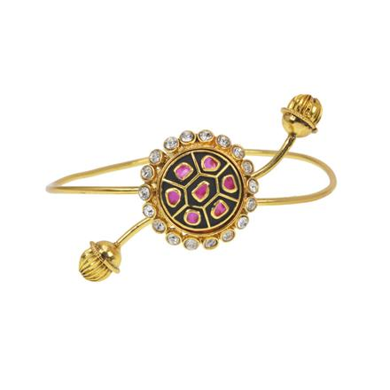 11565 Antique Classic Baju Band with gold plating