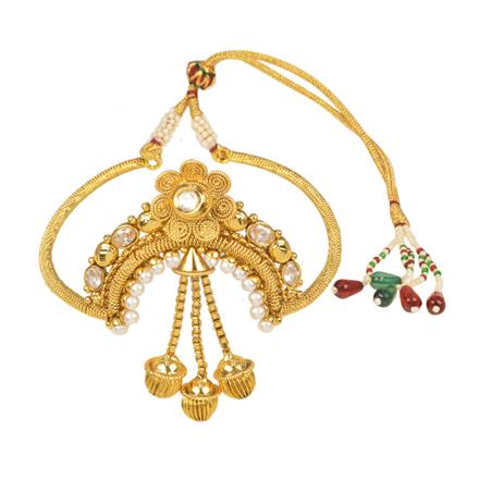 11569 Antique Classic Baju Band with gold plating