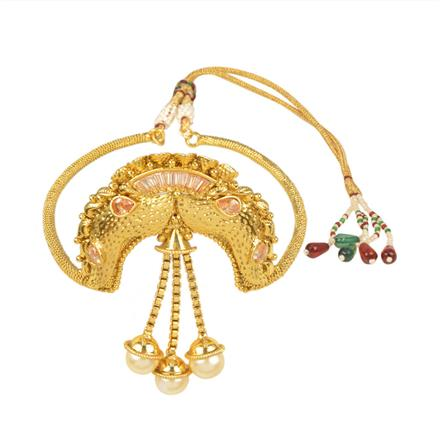 11570 Antique Classic Baju Band with gold plating