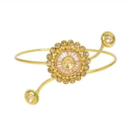 11571 Antique Classic Baju Band with gold plating