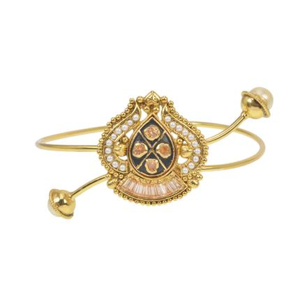 11572 Antique Classic Baju Band with gold plating