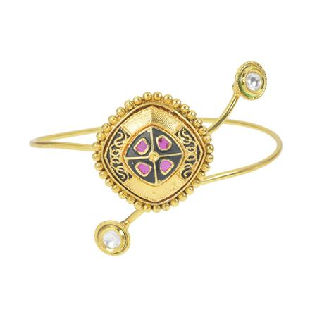 11574 Antique Classic Baju Band with gold plating
