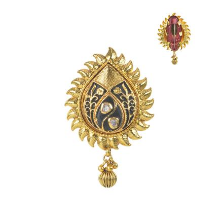11577 Antique Classic Brooch with gold plating