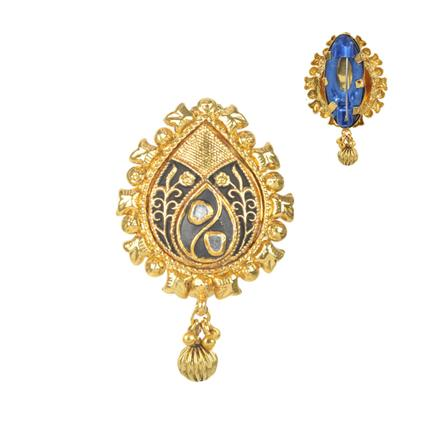 11578 Antique Classic Brooch with gold plating