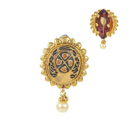 11579 Antique Classic Brooch with gold plating
