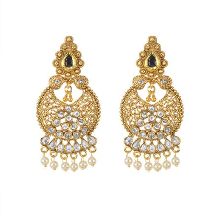 11604 Antique Classic Earring with gold plating