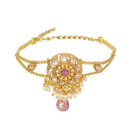 11618 Antique Classic Baju Band with gold plating