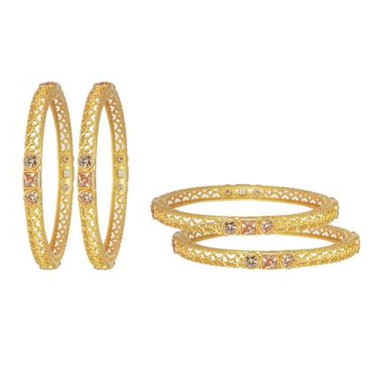 11623 Antique Classic Bangles with gold plating