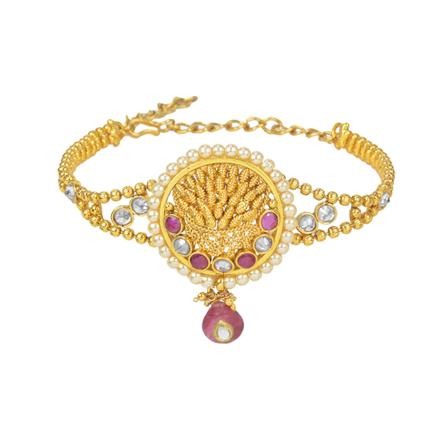 11637 Antique Classic Baju Band with gold plating