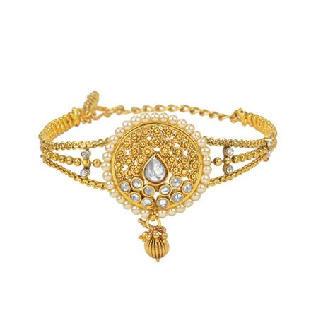 11638 Antique Classic Baju Band with gold plating