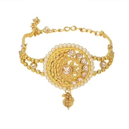 11639 Antique Classic Baju Band with gold plating