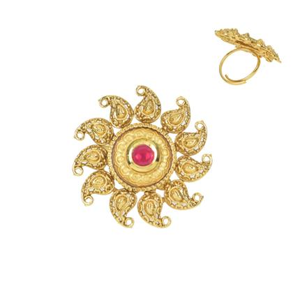 11650 Antique Classic Ring with gold plating