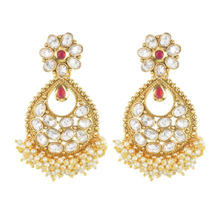 11654 Antique Classic Earring with gold plating