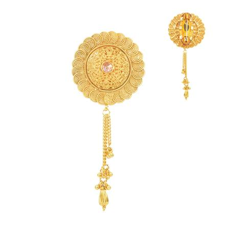 11670 Antique Plain Gold Brooch
