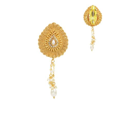 11674 Antique Classic Brooch with gold plating