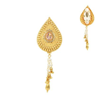 11676 Antique Classic Brooch with gold plating