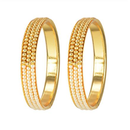 11678 Antique Classic Bangles with gold plating