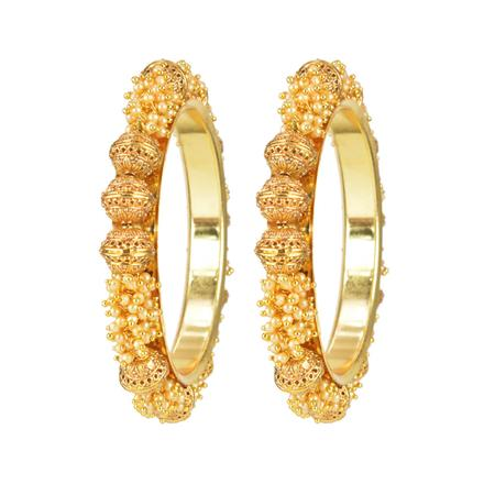 11679 Antique Classic Bangles with gold plating