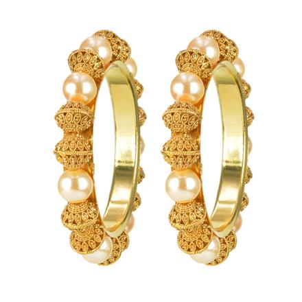 11680 Antique Classic Bangles with gold plating