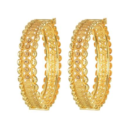 11683 Antique Openable Bangles with gold plating