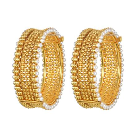 11684 Antique Openable Bangles with gold plating