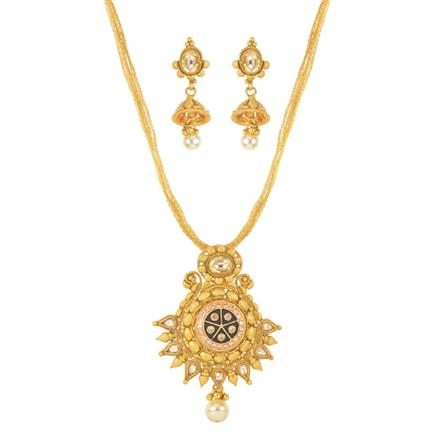 11704 Antique Classic Pendant Set with gold plating