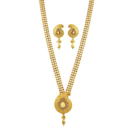 11717 Antique Classic Necklace with gold plating