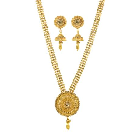 11718 Antique Classic Necklace with gold plating