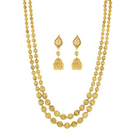 11719 Antique Mala Necklace with gold plating
