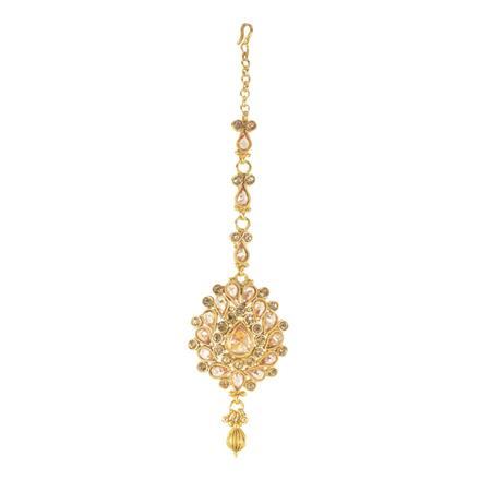 11728 Antique Classic Tikka with gold plating