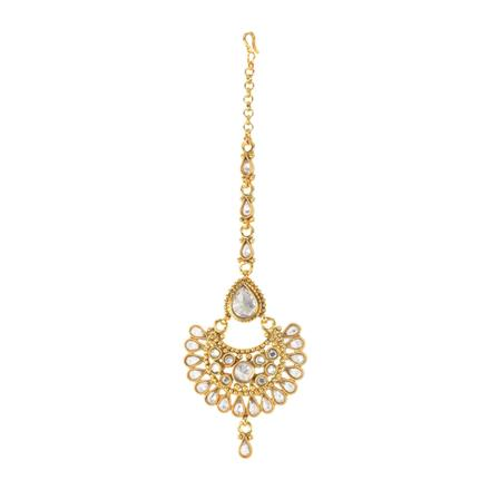11729 Antique Chand Tikka with gold plating