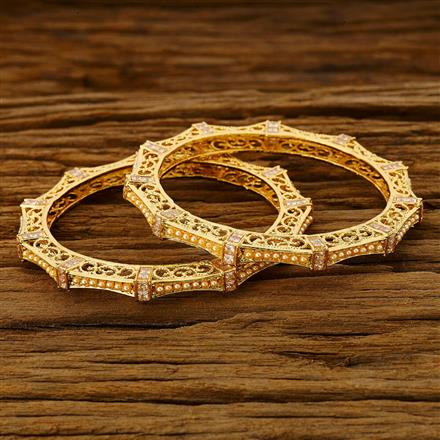 11748 Antique Classic Bangles with gold plating