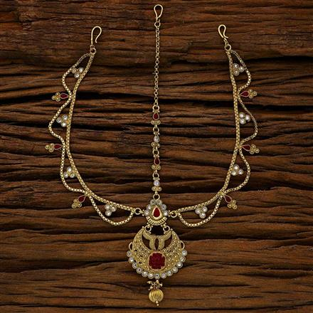11755 Antique Chand Damini with gold plating