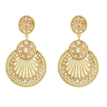 11797 Antique Classic Earring with gold plating