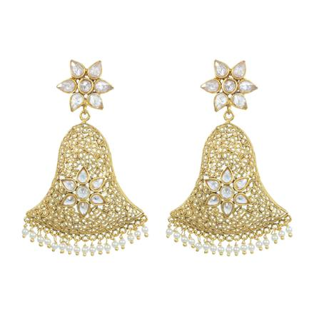 11798 Antique Classic Earring with gold plating