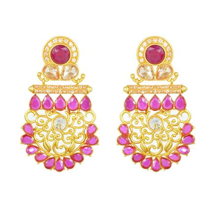 11820 Antique Classic Earring with gold plating