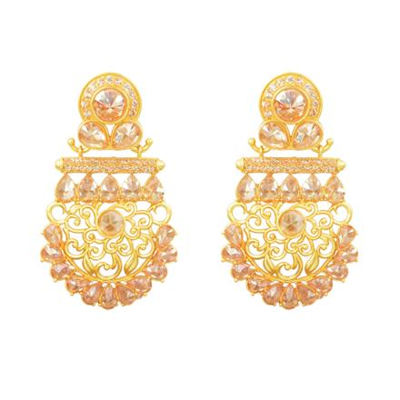11821 Antique Classic Earring with gold plating