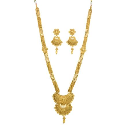 11833 Antique Long Necklace with gold plating