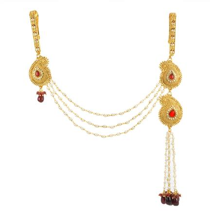 11869 Antique Double Jhuda with gold plating