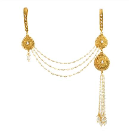 11871 Antique Double Jhuda with gold plating