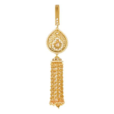 11883 Antique Classic Jhuda with gold plating