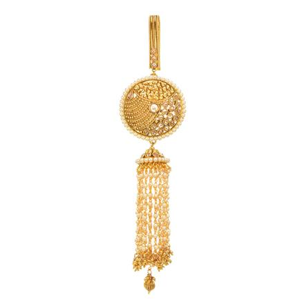 11887 Antique Classic Jhuda with gold plating