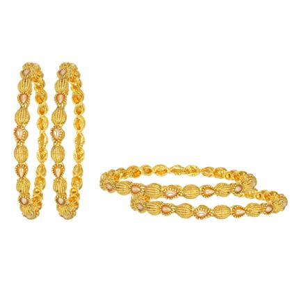 11902 Antique Classic Bangles with gold plating