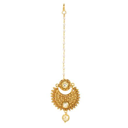 11922 Antique Chand Bore with gold plating