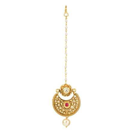 11926 Antique Chand Bore with gold plating