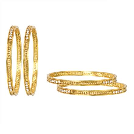 11954 Antique Classic Bangles with gold plating