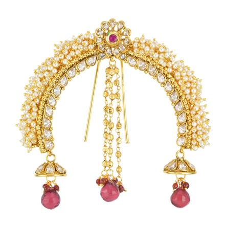 11988 Antique Classic Hair Brooch with gold plating