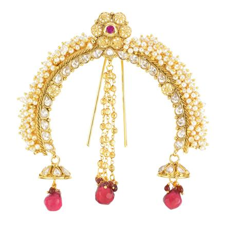 11999 Antique Classic Hair Brooch with gold plating