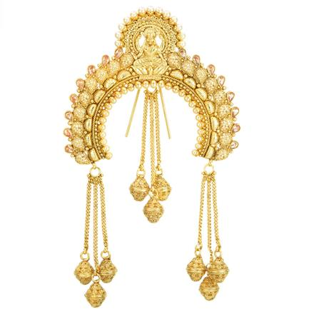 12001 Antique Classic Hair Brooch with gold plating