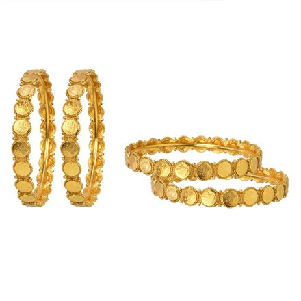 12065 Antique Temple Bangles with gold plating